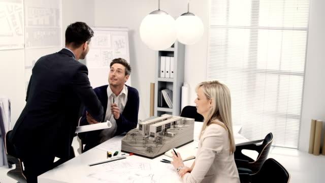 Architect meeting video