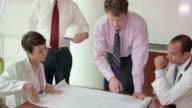 Architect Presents Plan to Multi-Ethnic Professionals video