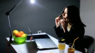Architect Working Under Pressure In Her Office video