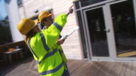 Architects discuss plans on site video