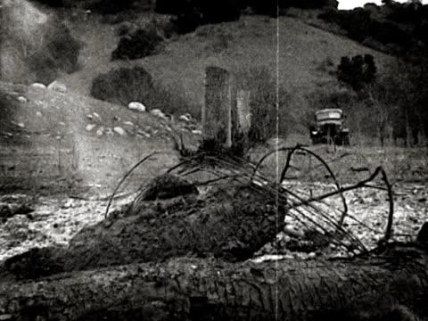 Archival WWII War Truck on Battlefield video