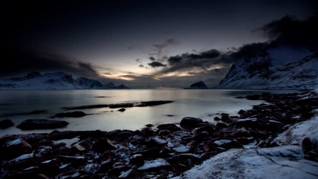 TIME LAPSE: Arctic Coast video