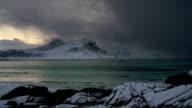 Arctic Coastline northern Norway video