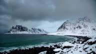 TIME LAPSE: Arctic Coastline Winter video