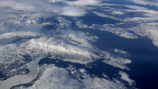 AERIAL: Arctic Landscape video