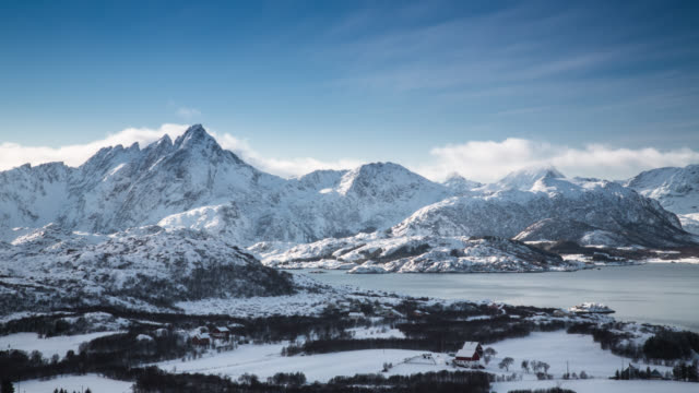 TIME LAPSE: Arctic Mountains video