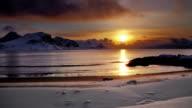 Arctic Sunset / Sunrise video