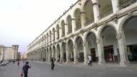 Arequipa city center Peru video
