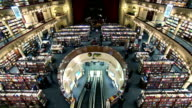 Argentina Buenos Aires library time lapse video