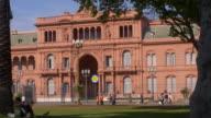 """Argentina House of Government """"Casa Rosada"""" video"""