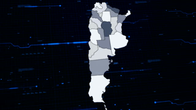Argentina network map video