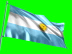 Argentinian Flag video