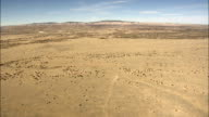 Arid Landscape West Of Belen  - Aerial View - New Mexico,  Valencia County,  United States video