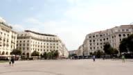 aristotelous square Thessaloniki Greece video