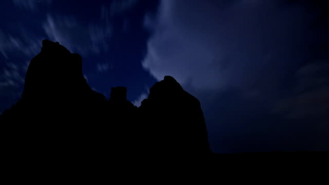 Arizona Boynton Canyon night storm video