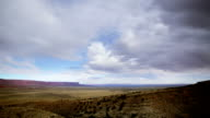 Arizona landscape time lapse video