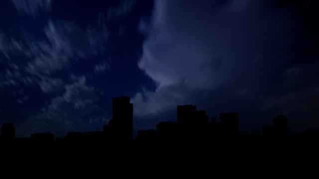 Arizona Phoenix downtown night storm video