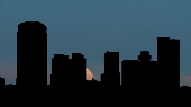 Arizona Phoenix moonrise video
