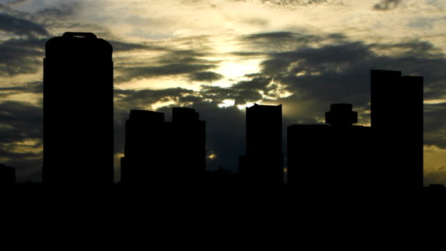 Arizona Phoenix sunset clouds video