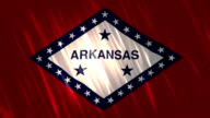 Arkansas State Loopable Flag video