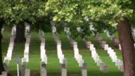 Arlington Cemetery - pan left video