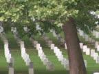 NTSC: Arlington Cemetery - pan left video