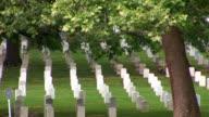 Arlington Cemetery - pan right video