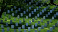 Arlington National Cemetery in Spring Wide Pan video