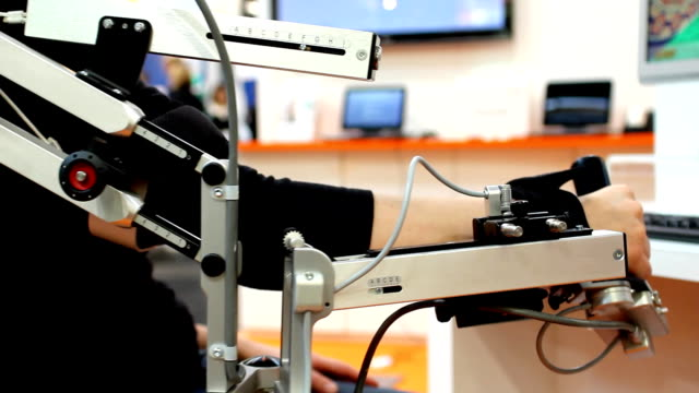 Arm physical therapy machine (HD) video