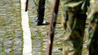Army Soldiers Marching-slowmotion video
