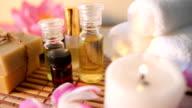 aromatherapy massage oil. video
