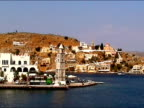 Arriving at Symi island video