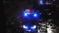 EMS arriving at the accident scene (HD) video