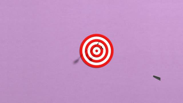 Arrow Target Shooting video