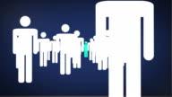 Arrows blue video