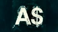 Art Australian Dollar Symbol video