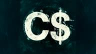 Art Canada Dollar Symbol video