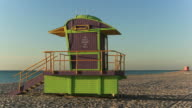 Art deco inspired Lifeguard houses video