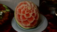 Art of fruit decoration video