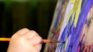 art painting video