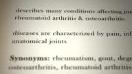 Arthritis Definition video