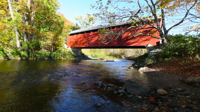Arthur A. Smith Covered Bridge video