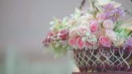Artificial Flowers Bouquet video