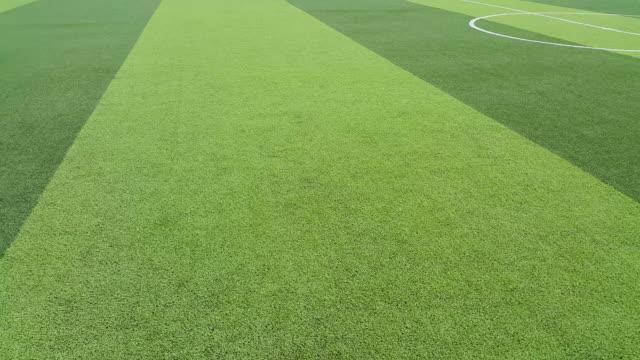 artificial grass football field in Mae Hia,Chiang Mai,Thailand video
