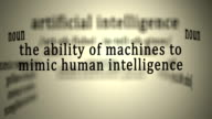 Artificial Intelligence Definition video