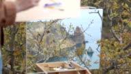 artist draws on the beautiful wild coast video
