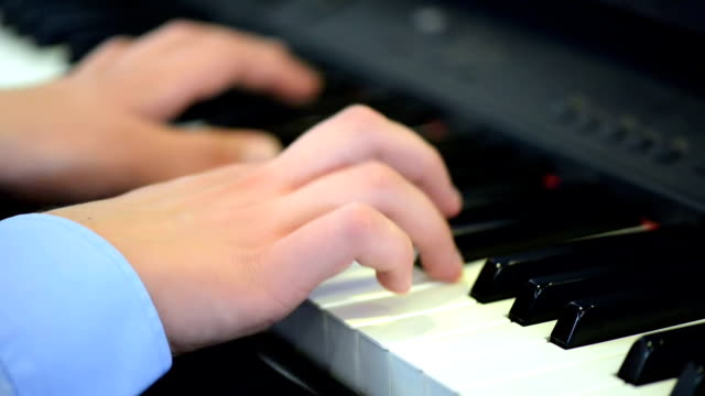 Artist Playing the Piano video