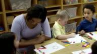 Arts and Crafts at Preschool video