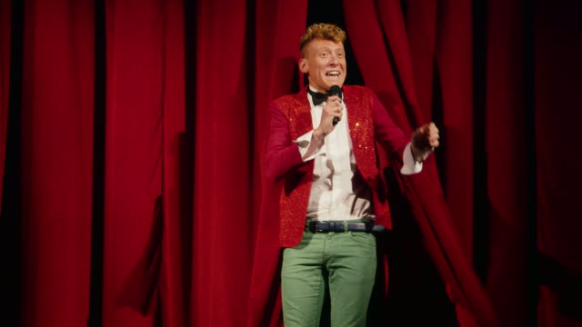 Arts, entertainment, show business, cinema, theater, people, stage, funny man video