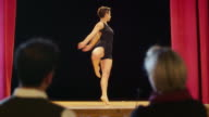 Arts, entertainment, show business, theater, people, stage, ballet, dance, woman video